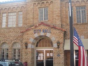 Homer, Louisiana - Homer City Hall (built 1928)