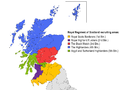 Revised Royal Regiment of Scotland recruiting areas.png