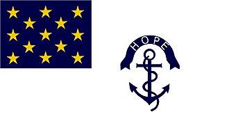 2nd Rhode Island Regiment - Image: Rhode Island Regimental Flag