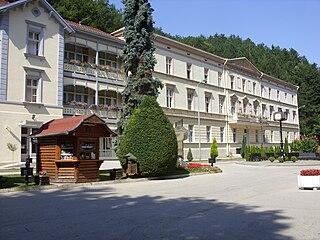 Ribarska Banja Village in Rasina District, Serbia
