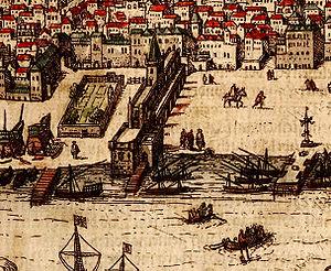 Casa da Índia - Image: Ribeira Braun 1598