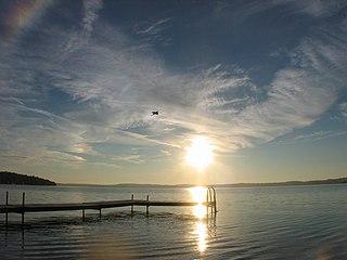 lake in Peterborough County, Ontario, Canada