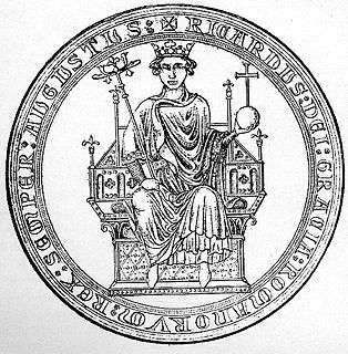 Richard of Cornwall 13th-century English King of the Romans and Earl of Cornwall