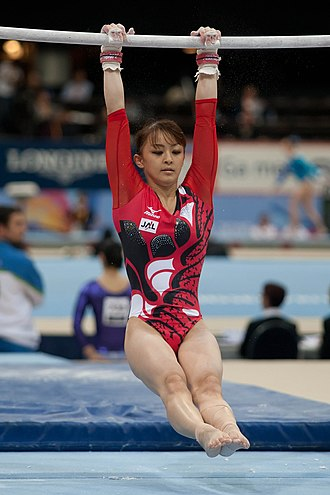 Longines Prize for Elegance - Rie Tanaka at the 2010 World Championships the year she won.