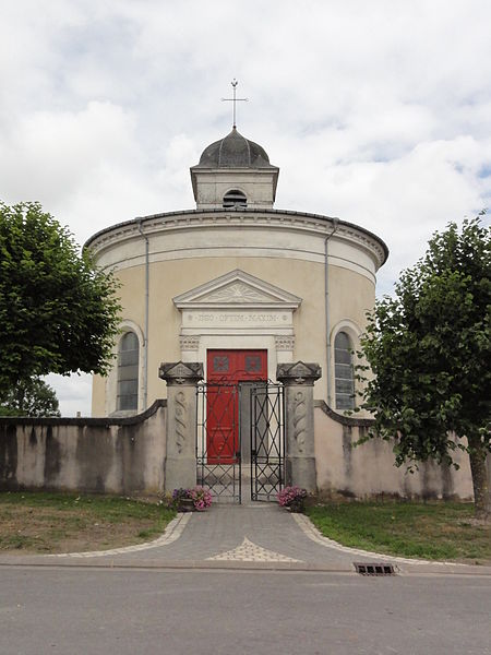 Rigny-Saint-Martin (Meuse) église extérieur