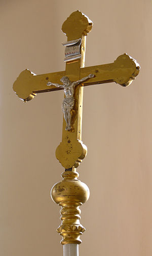 Processional cross -  Catholic Processional crucifix