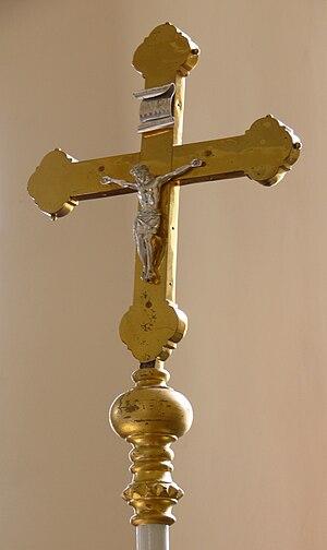 Processional cross -  Catholic Processional crucifix