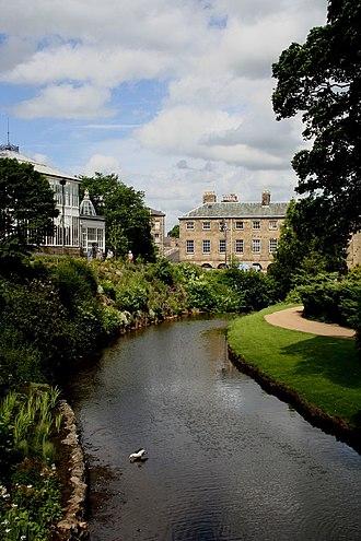River Wye, Derbyshire - River Wye in Buxton
