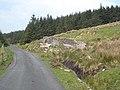 Roadside ruin below Carrane Hill - geograph.org.uk - 1630773.jpg