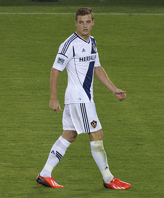 Robbie Rogers - Rogers playing for the LA Galaxy in 2013