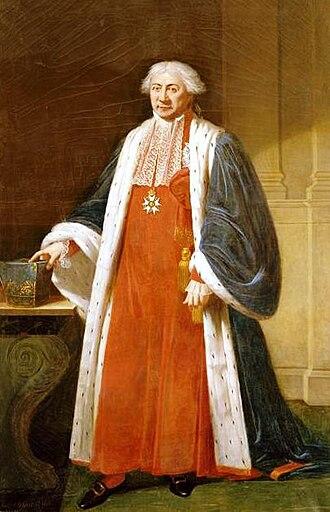Claude Ambroise Régnier - Claude Ambroise Régnier, Duke of Massa. by Robert Lefèvre