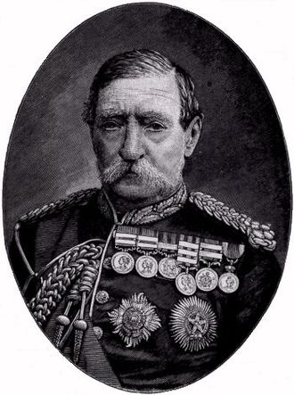 Royal School of Military Engineering - Field Marshal Robert Napier, 1st Baron Napier of Magdala, GCB, GCSI, CIE, FRS.