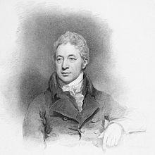 Robert Smirke, Kupferstich von Charles Picart nach einem Bild seiner Tochter Mary Smirke. (1814) (Quelle: Wikimedia)