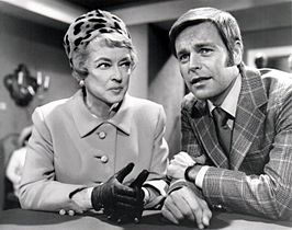 Robert Wagner en Bette Davis in It Takes a Thief, seizoen 3 (1970)