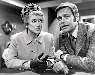 "It Takes a Thief (1968 TV series) - Guest star Bette Davis and Robert Wagner in episode ""Touch of Magic"" (1970)"