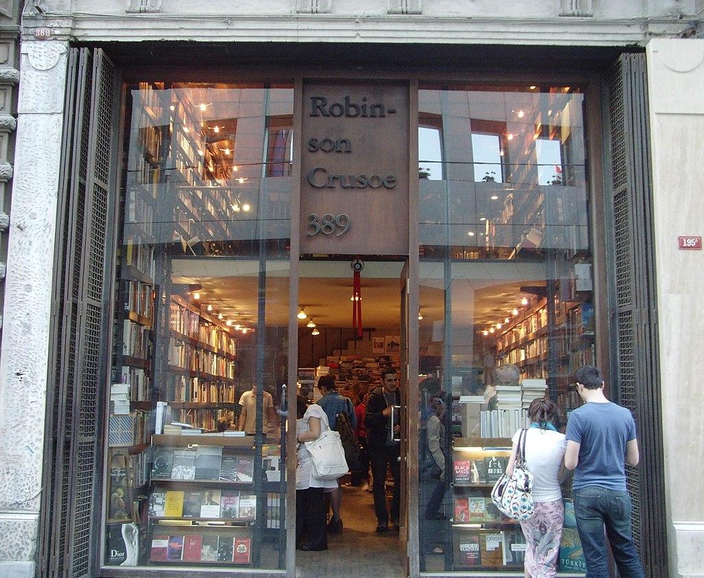 Robinson crusoe bookstore