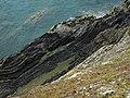 Rock strata, St Patrick's Isle - geograph.org.uk - 481804.jpg