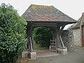 Rodmell Church lychgate.JPG