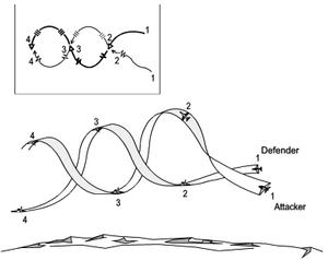 The Scissors - A diagram of the rolling scissors.