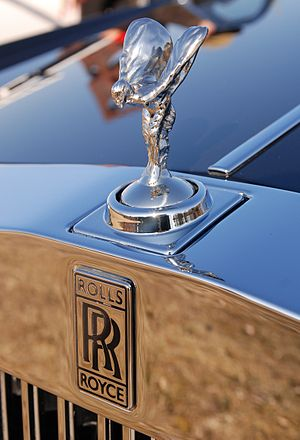 "Deutsch: Rolls-Royce Kühlerfigur ""The Spirit o..."