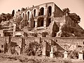 Roma - Forum Romanum - side of the Palatine Hill (sephia) - panoramio.jpg