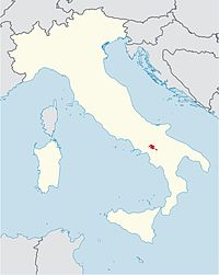 Roman Catholic Diocese of Ariano Irpino-Lacedonia in Italy.jpg