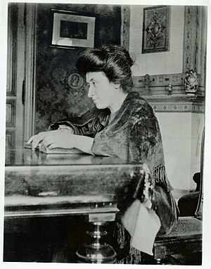 Rosa Luxemburg bibliography - Luxemburg in Berlin in 1907.