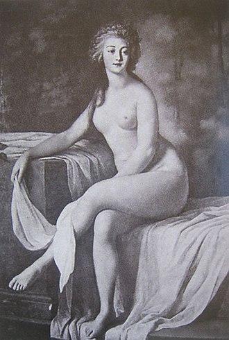 Rosalie Duthé - Rosalie Duthé by Lié Louis Périn-Salbreux