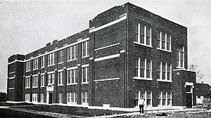 Roseland Christian School - Image: Roseland Christian School Current Building 1929
