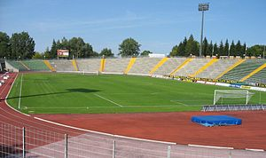 Rosenaustadion - Stadium in October 2006