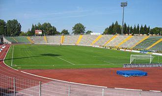 Rosenaustadion - Stadium in October 2006