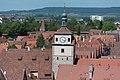Rothenburg ob der Tauber, Kummereck, Weißer Turm, vom Rathausturm 20170526 001.jpg
