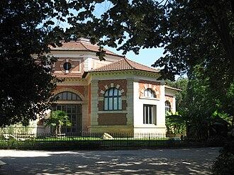 Ménagerie du Jardin des plantes - The Rotonde, today a home for giant tortoises