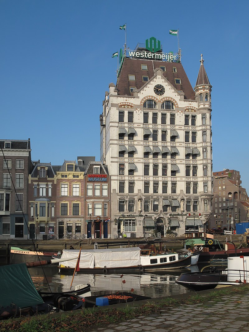witte huis in rotterdam monument