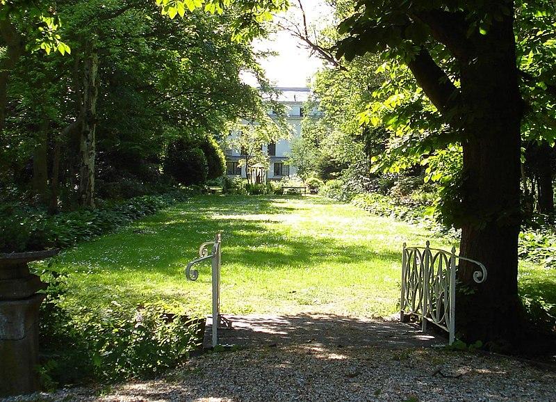 De tempel historische tuin en parkaanleg in rotterdam for Diana tuin