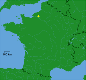 Pays de Bray - Location within France