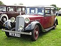 Rover 14 saloon 1577cc manufactured 1935 photographed at Knebworth 2012.jpg
