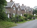 Row of Victorian cottages at Friston - geograph.org.uk - 484029.jpg