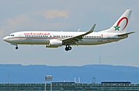 CN-RNU - B738 - Royal Air Maroc