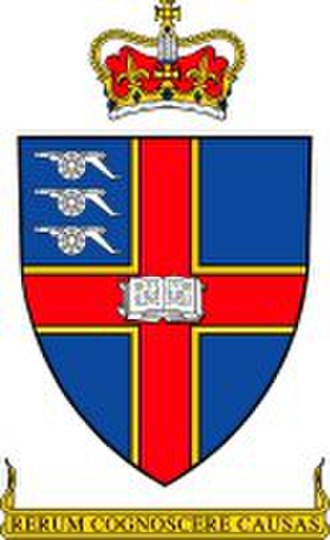 Royal Military College of Science - Image: Royal Military College of Science Shield