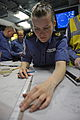 Royal Navy Sailor Plotting Course MOD 45155653.jpg
