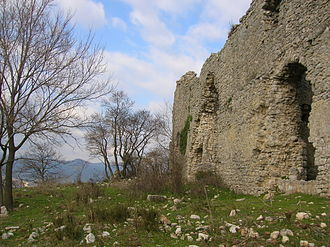 Fara in Sabina - Remains of the Abbey of St. Martin.