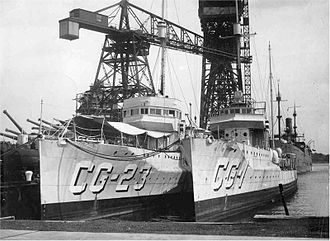 Rum Patrol - Image: Rum Patrol ships Tucker and Cassin