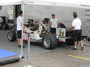 Ryan Dalziel - Dalziel's Champ Car at the 2007 Steelback Grand Prix of Toronto