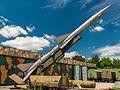 S-75 Dvina - Honi Légvédelmi Park - Rocket Base Zsámbék.jpg