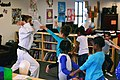 SAC gets karate lesson 161209-F-CJ211-008.jpg