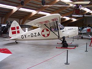 SAI KZ III - KZ III air ambulance at The Danish Collection of Vintage Aircraft