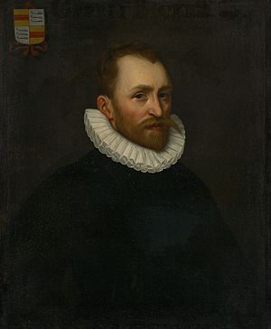 Gerrit Bicker - Gerrit Bicker by an anonymous Amsterdam artist, 1583.