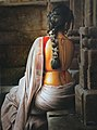 SCULTPED ON A STONE - OIL PAINTING BY RAJASEKHARAN.jpg