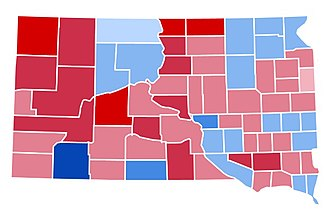 1988 United States presidential election in South Dakota - Image: SD1988
